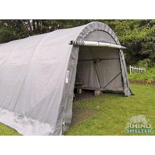 MDM Rhino Shelters 12 x 20 x 8 Round Style Portable Garage (NEW)