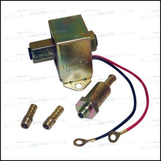 Electric Fuel Pump 12 volt Solid State 2.5  4psi 130 LPH Petrol Diesel