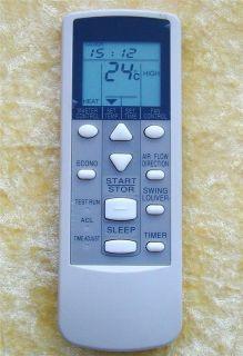 fujitsu air conditioner remote control