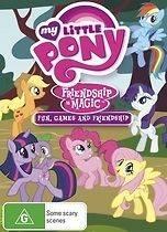 Pony; Friendship is Magic (V4)   Fun, Games & Friendship DVD NEW