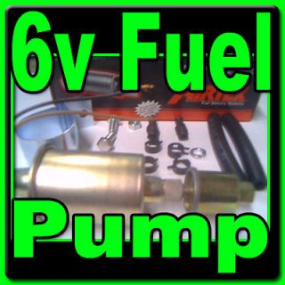 VOLT FUEL PUMP BUICK CADILLAC CHEVROLET FORD LINCOLN MERCURY DODGE