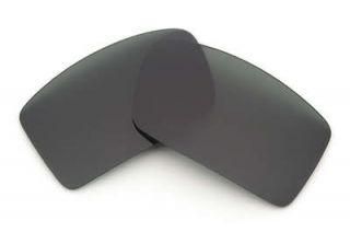 Stealth Black Replacement Lenses for Oakley Gascan Sunglasses