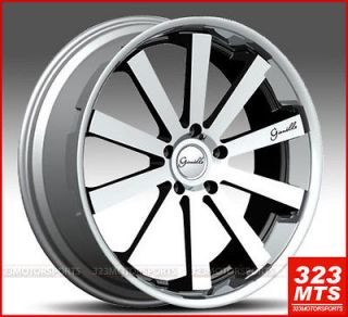 24 inch rims wheels GIANELLE SANTO 2SS RIMS CADILLAC CHEVY GMC RIMS