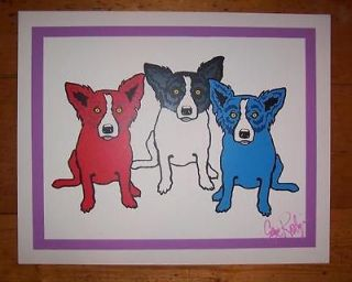 george rodrigue signed in Prints