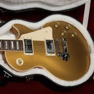 2012 Gibson Les Paul Standard Traditional Gold Top Electric Guitar w