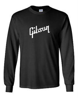 Gibson T shirt Les Paul Guitar Mens Rock N Roll Legendary Rocker Tee