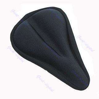 Thick Soft Gel Bike Bicycle Saddle Seat Cover Cushion Pad Silica