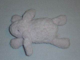 Pottery Barn Kids PBK Pink Plush Stuffed Bunny Rabbit Musical Baby Toy