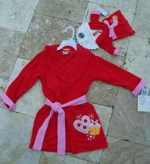 Dollie & Me Matching Girl Doll Robe Fits 18 American Girl Journey