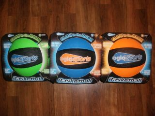 NEW OGLO Glow in the Dark Basketball Youth Size 5