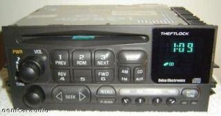 95 96 97 98 99 2000 01 02 GMC Yukon Sierra Chevy Silverado Tahoe Radio