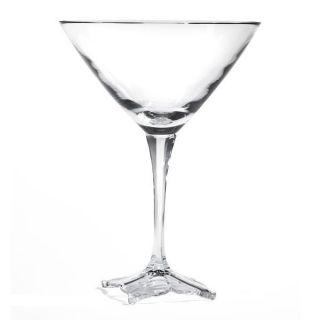 Mikasa Florale Crystal Martini Glass, 7 3/4 oz.