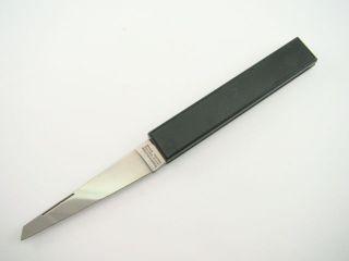 German Richartz Solingen Pocket Knife Vintage Black Box Shape