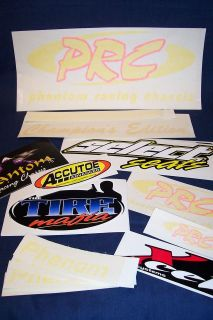 Go Kart Racing NEW Stalker Phantom Racing Chassis PRC DECALS Kit (17