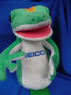 10 GEICO LIZARD HAND PUPPET~ Golf Club Cover