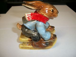 Goebel West Germany Bavarian Bunnies Rabbit 3311008 Hard to Find
