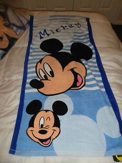 Mickey Mouse 1200 x 600mm Childrens Beach Towel