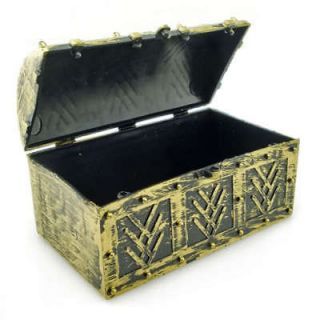 Golden Pirate Captain Treasure Chest Box for Toddler Party Costume