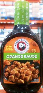 PANDA EXPRESS GOURMET CHINESE FOOD ORANGE SAUCE 44 OZ FOR ORANGE