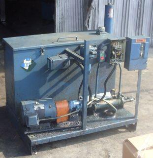 Hydraulic Package 10 HP 1755 RPM Vickers PVB5 Pump 110 Gallon Tank