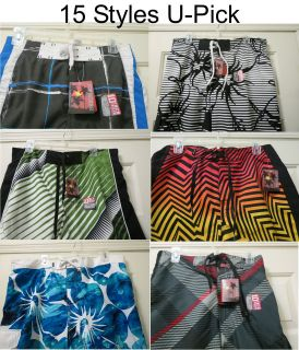 Mens Joe Boxer Swim Trunks Board Shorts U Pick Size Small Large XLarge
