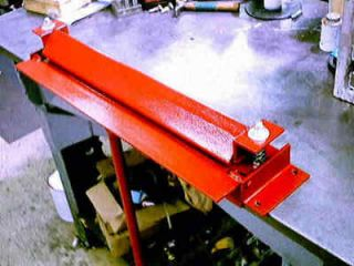 BRAKE Sheet Metal Bender Slip ROLLER sand tools 3 PLANS