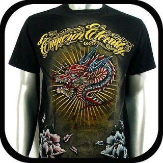 Eternity T Shirt Tattoo bmx Rock Indie B156 Sz M Rhinestone Graffiti