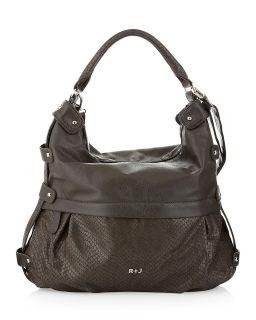 Handbags by Romeo & Juliet Couture Wanda Hobo, Charcoal