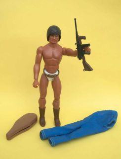 BIG JIM SPY 004 SECRET AGENT DOLL ACTION FIGURE MATTEL EUROPEAN 1970s