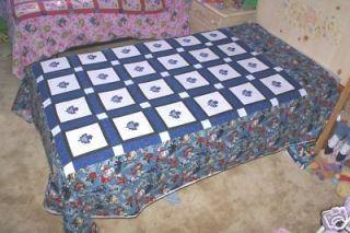TORONTO MAPLE LEAFS QUILT PATTERN - Popular Crocheting Patterns
