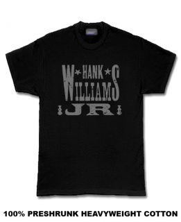 Hank Williams Jr Country rockabilly T Shirt