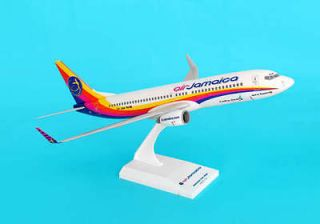 SkyMarks SKR631 Air Jamaica Airlines Boeing 737 800 1/130 Scale Mint