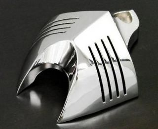 Chrome HORN COVER for Harley Softail Dyna Glide Big Twin Electra Road