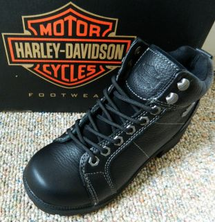 Harley Davidson Tyler Black D84280 womens boots New in Box