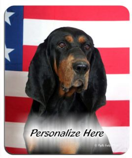 black and tan coonhound in Collectibles