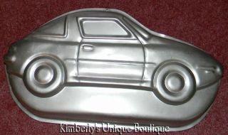WILTON SPORTS CAR CAKE PAN MOLD +INSERT COPY MOLD TIN RACE