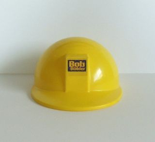 Curve Bob the Builder Yellow Construction Hard Hat Helmet Pretend Play