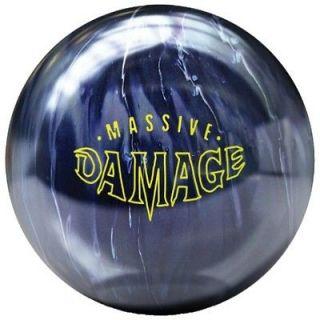 BRUNSWICK MASSIVE DAMAGE bowling ball 1ST QUALITY 15lb. brand new in