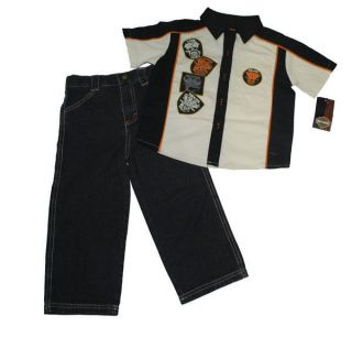 harley davidson baby clothes in Boys Clothing (Newborn 5T)