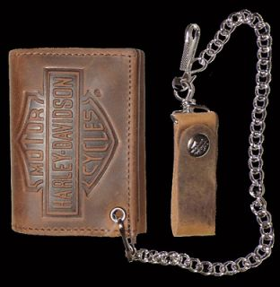 harley davidson wallet chain in Clothing,