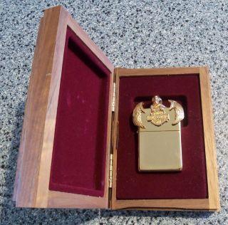 Limited Ed ZIPPO Lighter January 1995 #150/500 HARLEY DAVIDSON WINGS