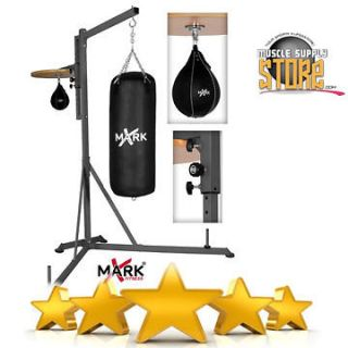 Pro Style Heavy Bag Stand with Adjustable Speed Bag Platform XM 2841