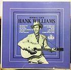 HANK WILLIAMS memorial album LP Mint  E 3272 Vinyl 1955 Mono 1st Press