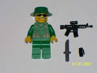Lego Custom Minifig US Navy Seal Modern Warfare Soldier