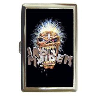 New Cigarette Money Case Iron Maiden Metal Rock CMC048