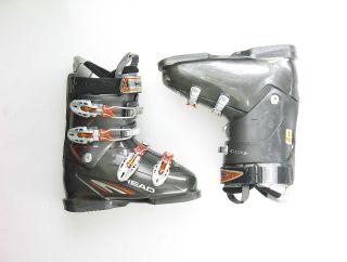 Head Used Edge +9 Intermediate Gray Ski Boots Mens