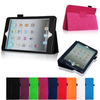Folio PU Leather Case Cover for New Apple iPad mini 7.9 inch Tablet