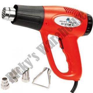 NEW 1500 Watt Dual Temp Heat Gun Paint Stripper Scraper Shrink Wrap