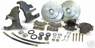 1958 64 CHEVY IMPALA DISC BRAKE CONVERSION KIT 2 DROP