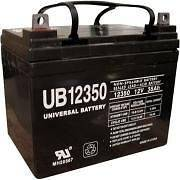 12v 35 ah U1 Deep Cycle AGM Solar Battery also replaces 32ah, 33ah